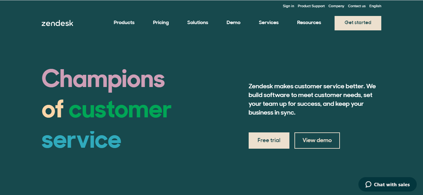 Zendesk Customer Service Software and Sales